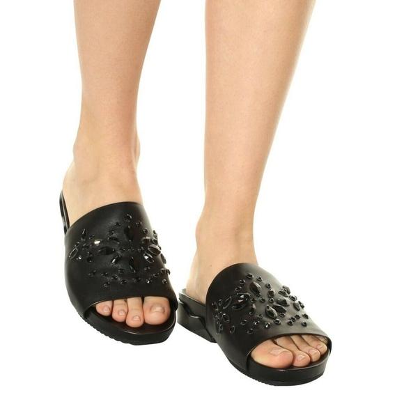 a0bd126b4 Tory Burch Flats Sandals Black Leather 6